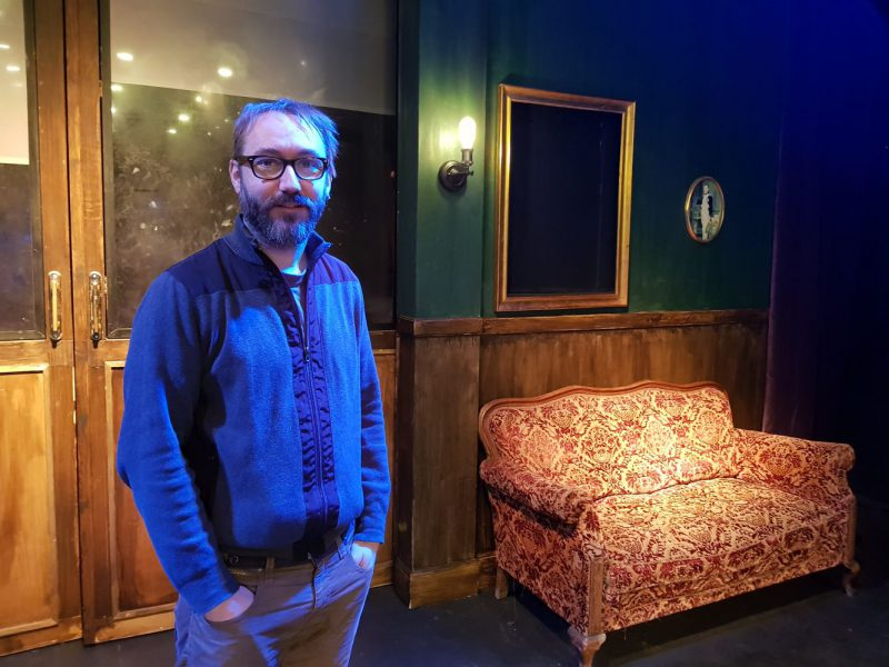 Víctor Álvaro dirige 'Poe, el cabaret macabre', para conmemorar el vigésimo aniversario de la compañía Gataro.